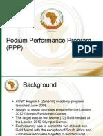 Podium Performance Plan - Regional Coaches Confrence