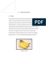 materi mengenai pisang