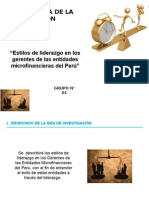 Ejercicio Liderazgo Microfinancieras
