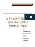 SPD Integration Sensorielle Et Autisme