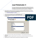Manual Metatrader 4