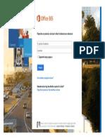 Prijavite Se u Office 365
