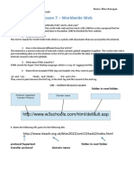 u1l7 worldwide web worksheet ef pdf