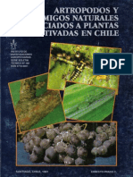 Artropodos y Sus Enemigos Naturales Asociadosa Plantas
