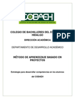 Método de Aprendizaje Por Proyectos_COBAEH