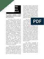 La Queja Ante Actos Administrativos Arbitrarios de La DGI y DGA