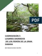 Cosmovisión y Lugares Sagrados de Los Pemón de La Gran Sabana