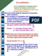 2 Rumus Bernoulli