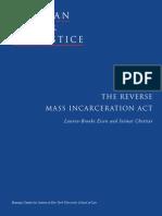 The Reverse Mass Incarceration Act