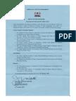 Changes in Kirinyaga County Executive