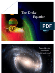 The Mathematics of Drake's Equation - Planets, stars, and life elsewhere? (ppt presentation)