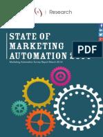 State of Marketing Automation 2014 v1
