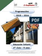 Ceip o Castiñeiro - Programación e. Infantil - 05 Anos - 2015-16