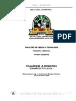 Syllabus Seminario de Titulacion I