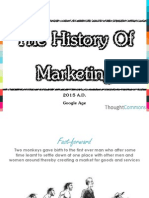 ThoughtCommons - The History of Marketing