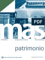 Revista 01 MAS Patrimonio