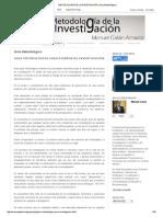 Metodologia de La Investigación_ Guía Metodológica