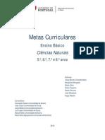 Eb Cn Metas Curriculares 5 6 7 8 Ano 0
