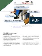 Programación Didáctica Da Aula de 1.º Curso Ciencias Naturais