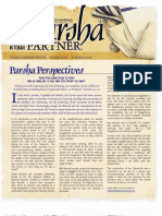 Parsha Partners Pikoudei 5770
