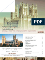 DAVISON, G.- Choral Music (New American Choral Music Series) (Cathedra, Washington National Girl Choristers, M. McCarthy)