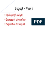Lecture 9 and 10- Hydrograph