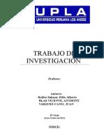 Trabajo de Investigacion de Economia