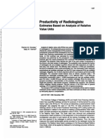 Productivity of Radiologist