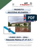 Proxecto Seccións Bilingües 2015-16 Ceip o Castiñeiro