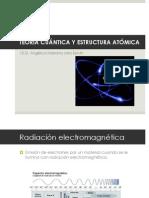 Teoría Cuántica y Estructura Atómica.