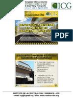 Reparacion y Refuerzo de Puentes en Infraestructura Vial