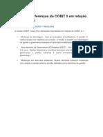 Principais Diferenças Do COBIT 5 Em Relação Ao COBIT 4