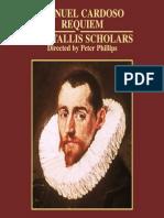 Manuel Cardoso; The Tallis Scholars, Peter Phillips - Requiem