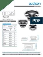 Th k3 Orchestra Tech Sheet Tech Sheet