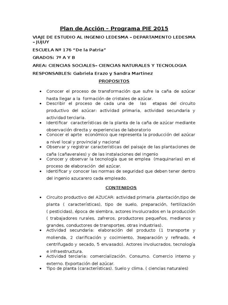 Circuito Productivo De La Caña De Azucar : Produccion del azucar proyecto