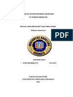 Analisa Sistem Informasi Akuntansi