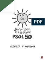 Estatuto e Programa Do PSOL (PDF)