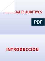 Potenciales Auditivos y Emisiones Otoacusticas