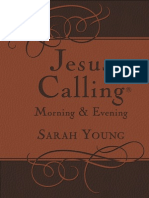 Jesus Calling Morning and Evening Devotions