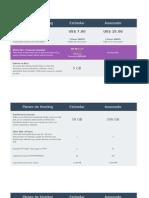 Cuanto Cuesta El Servicio de Hosting Para Montar Un Servicio Web Con Php-mysql Server o Puntonet y SQL Server Especifica Espacio en Disco Sistema Operativo