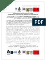 Conferencia de Prensa 12 de Octubre 2015