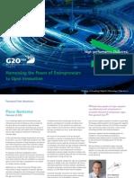 Accenture G20 YEA 2015 Open Innovation Executive Summary