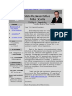 House District 7 October Newsletter
