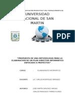 Planificacion informatica UNSM