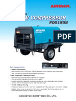 AirMan Compressor PDS185