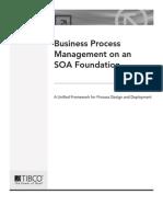 Business Process Management SOA Foundation