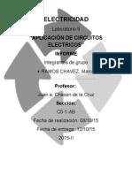 Laboratorio8 de Electrecidad