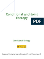 Conditional and Mutual Entropy