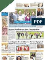 Zu Gast bei Filmfreunden Dolomiten 4. u. 5. Juli 09