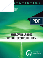 Balances of Non OECD Countries